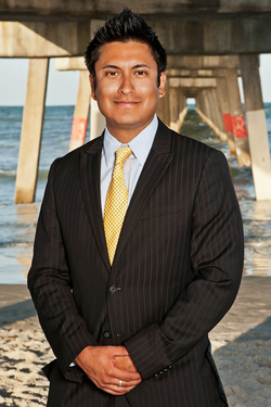 Former City Council Candidate, Meza, fights violence in Jax Beach